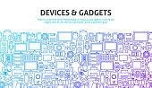 Device Gadgets Concept