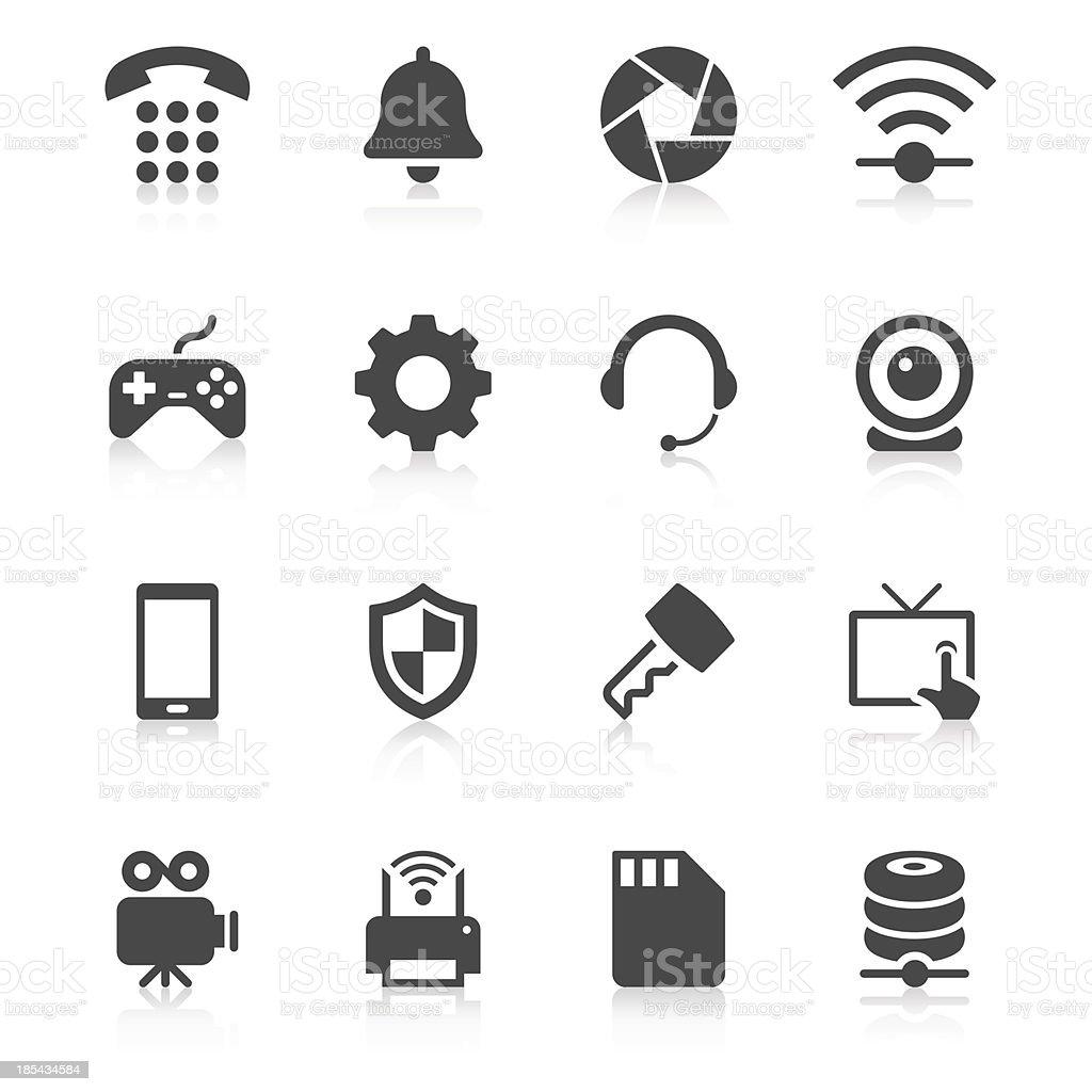 Device Icon Set | Unique Series vector art illustration