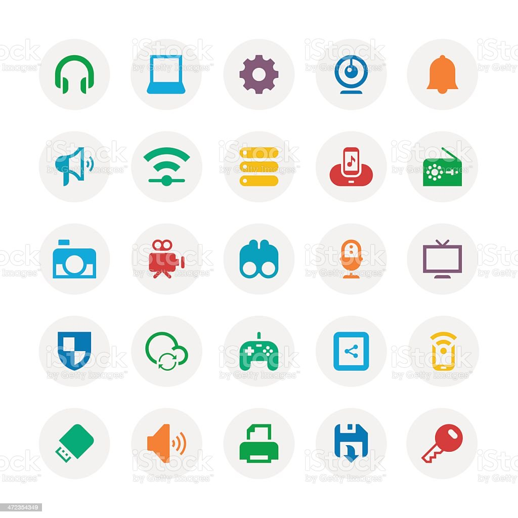 Device icon royalty-free device icon stock vector art & more images of bell