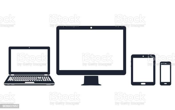 Device icons desktop computer laptop smart phone and tablet vector id909902552?b=1&k=6&m=909902552&s=612x612&h=lmx5oy0 jsj5feyig1dd1pd57zotnopy 72dybegr6y=