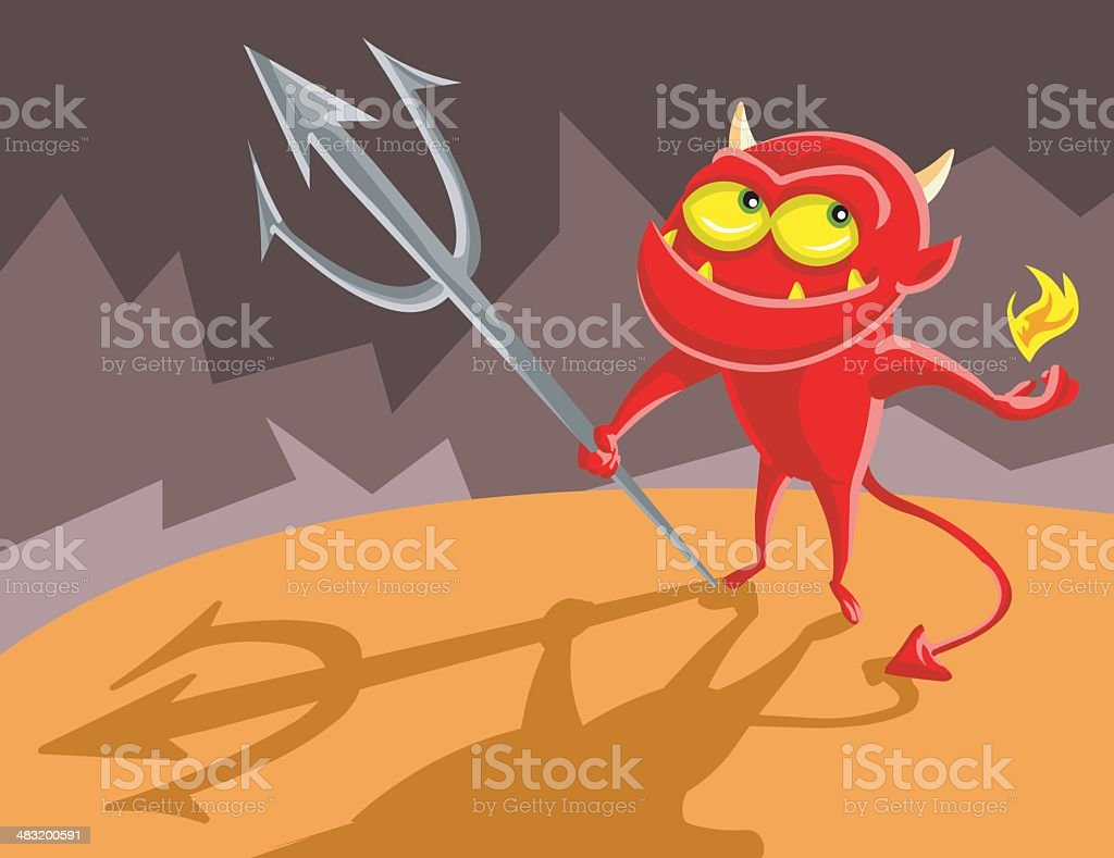 Devil Boy royalty-free devil boy stock vector art & more images of animal mouth