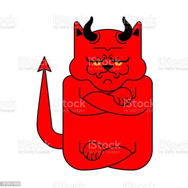 Devil cat grumpy isolated angry red demon pet vector illustration vector id970947836?b=1&k=6&m=970947836&s=612x612&h=oqfk9j00g  o4koqzpfwncqgx8iwz4x9 smzgisbpjk=
