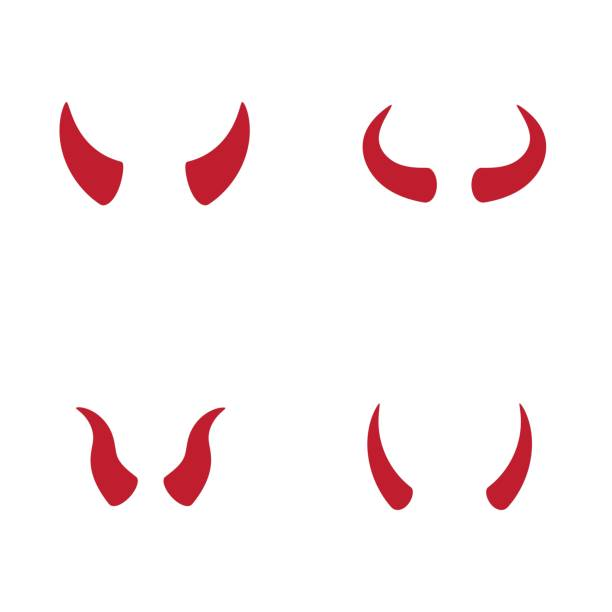 Devil Horns Illustrations, Royalty-Free Vector Graphics ...