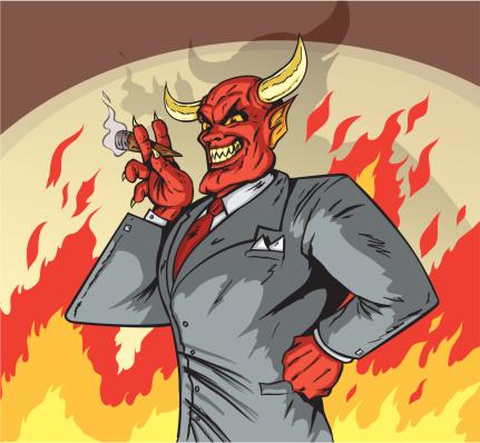 Deviled Businessman