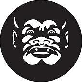 istock Devil's Face 1328170251