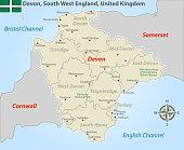 istock Devon in South West England 1255760572