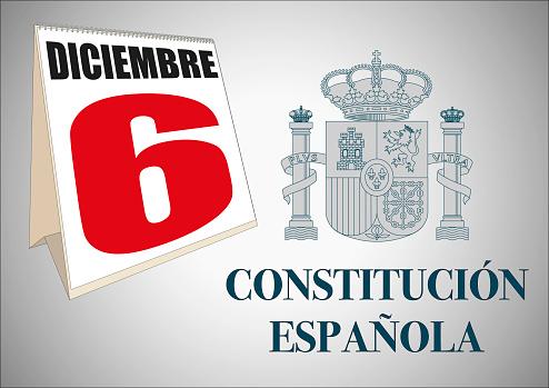 dia de la constitucion espanola spanish constitution day