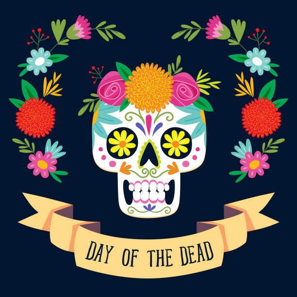 Best Day Of The Dead Illustrations, Royalty-Free Vector ...