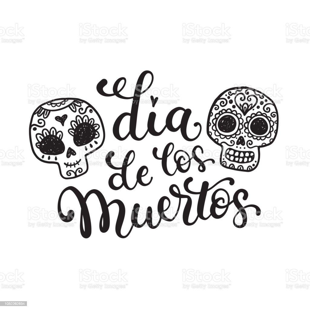 Ilustración De Día De Los Muertos Día De Los Muertos Fiesta
