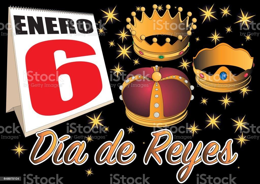 Royalty Free Reyes Magos Clip Art, Vector Images