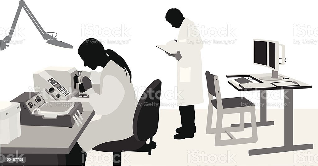 Diagnosis vector art illustration