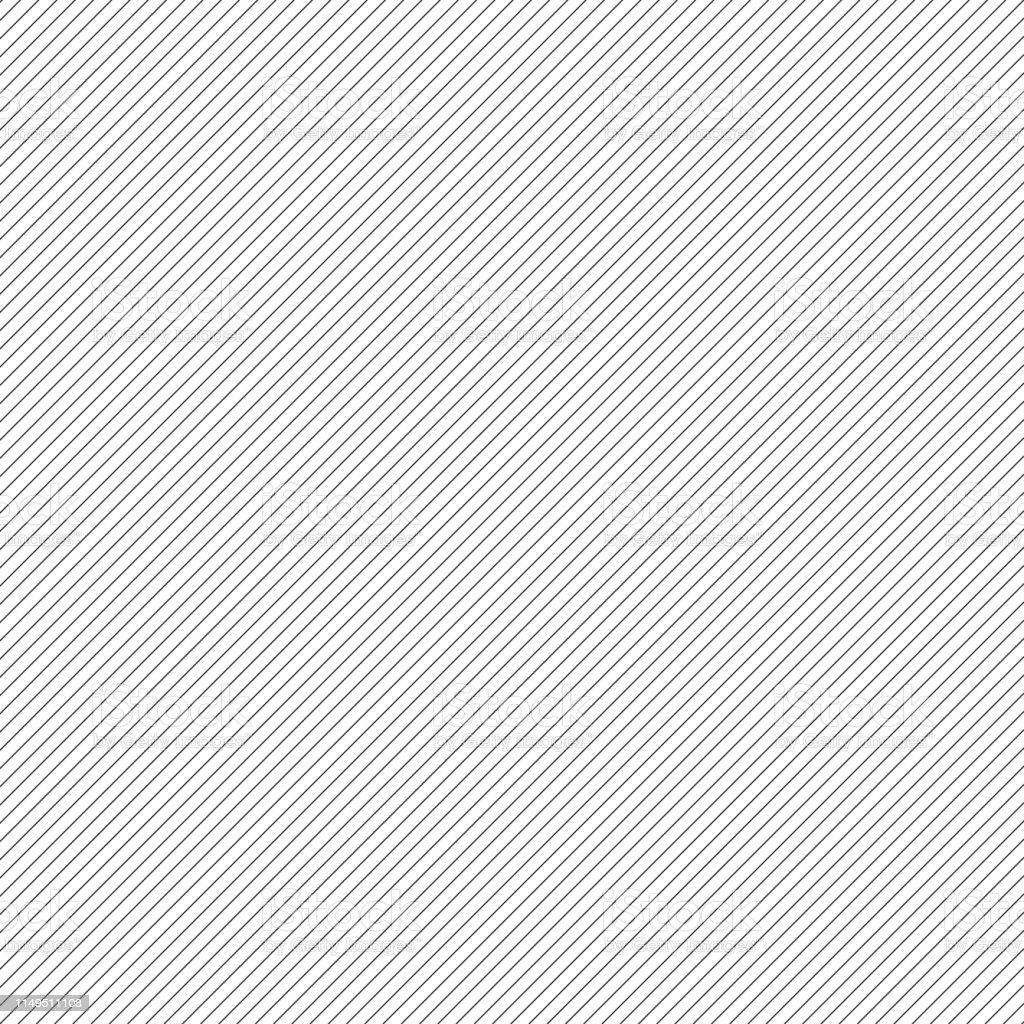 Diagonal lines. Pattern. Black lines abstract wallpaper or decorative element. - Grafika wektorowa royalty-free (Abstrakcja)