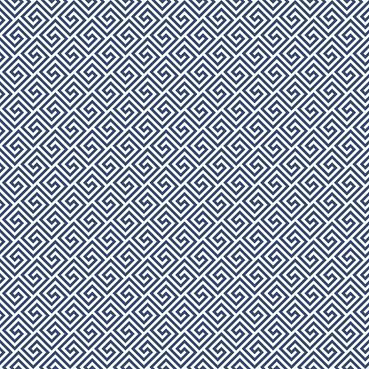 Diagonal meander style pattern - greek waves ornament background