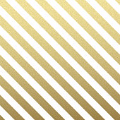 Gold glittering diagonal lines pattern on white background. . Classic pattern. Vector design