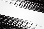 istock diagonal speed lines on white abstract background. speed light effect. vector illustration . wallpaper for banner business social media advertising. comic backdrop template design. 1190323626
