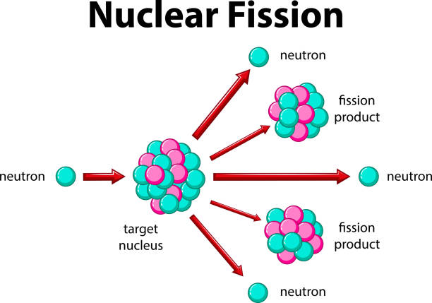diagram of fission reaction top nuclear fission clip art, vector graphics and ... diagram of fission device #4