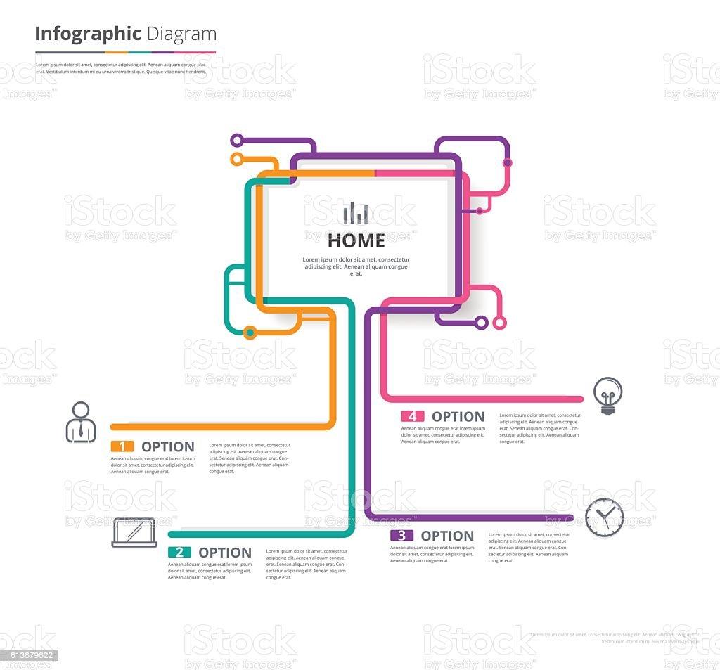 Diagram Template Organization Chart Template Stock Vektor Art und mehr  Bilder von .org