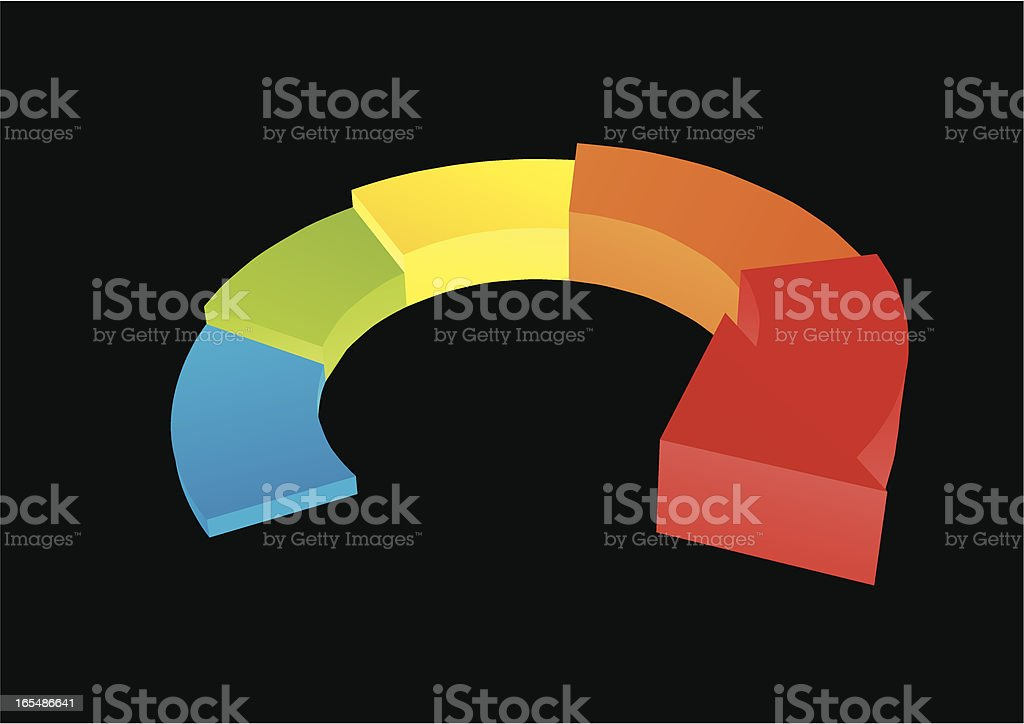 Diagram royalty-free stock vector art