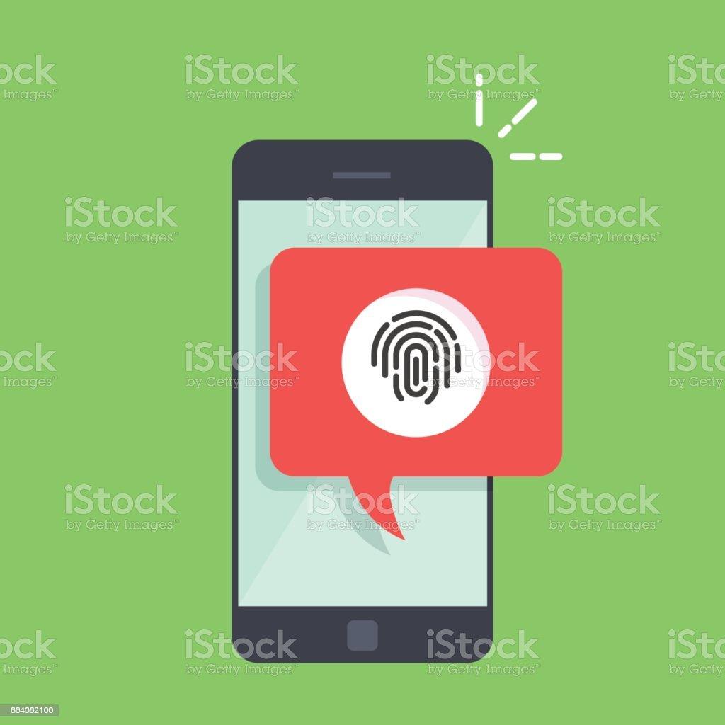 Cuadro De Diálogo Por Teléfono Con Una Sugerencia Para Escanear Una ...