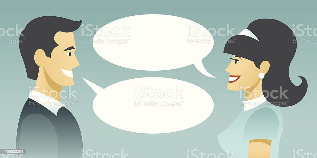 Dialog royalty-free stock vector art