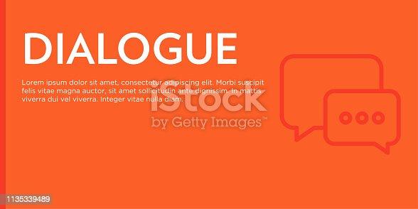 Dialogue Flat Web Banner