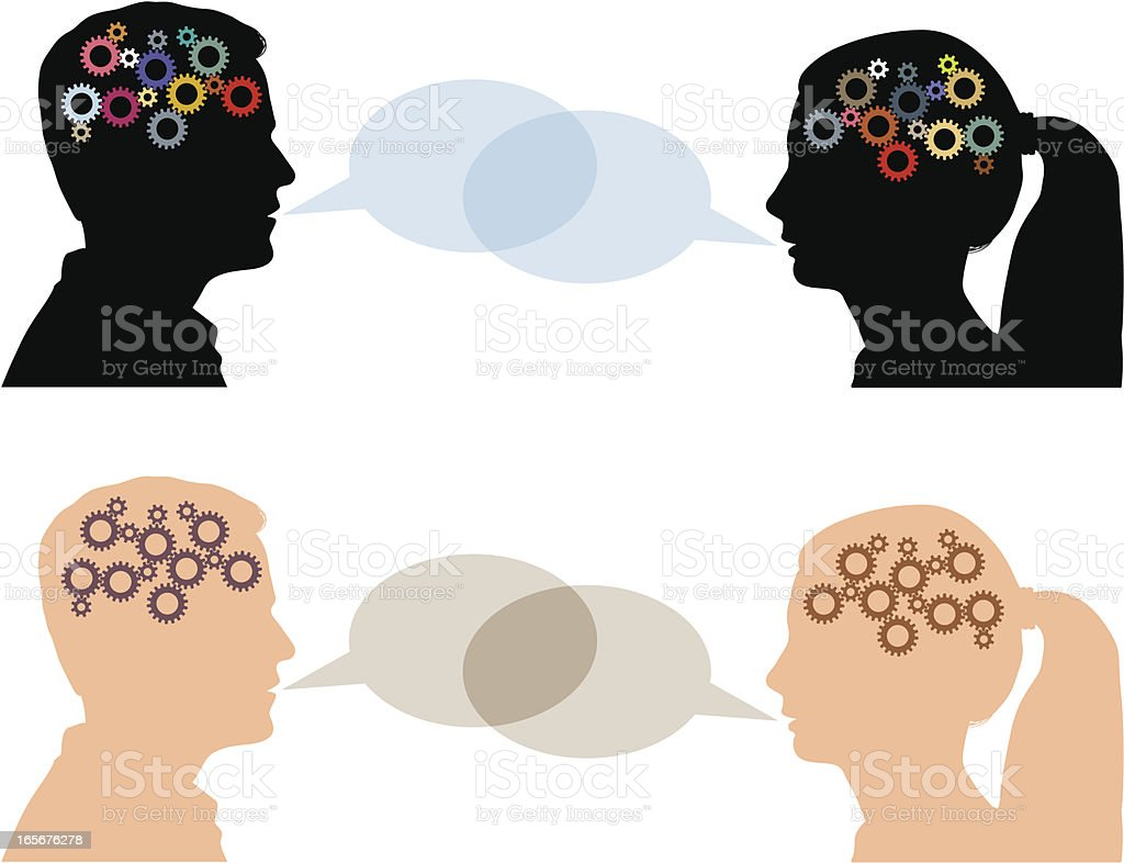 Dialogue royalty-free dialogue stock vector art & more images of adult