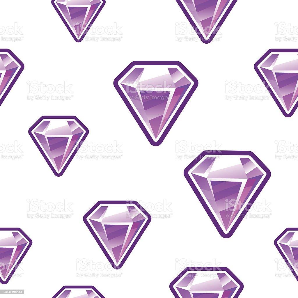 Diamond Background Stock Illustration - Download Image Now - iStock