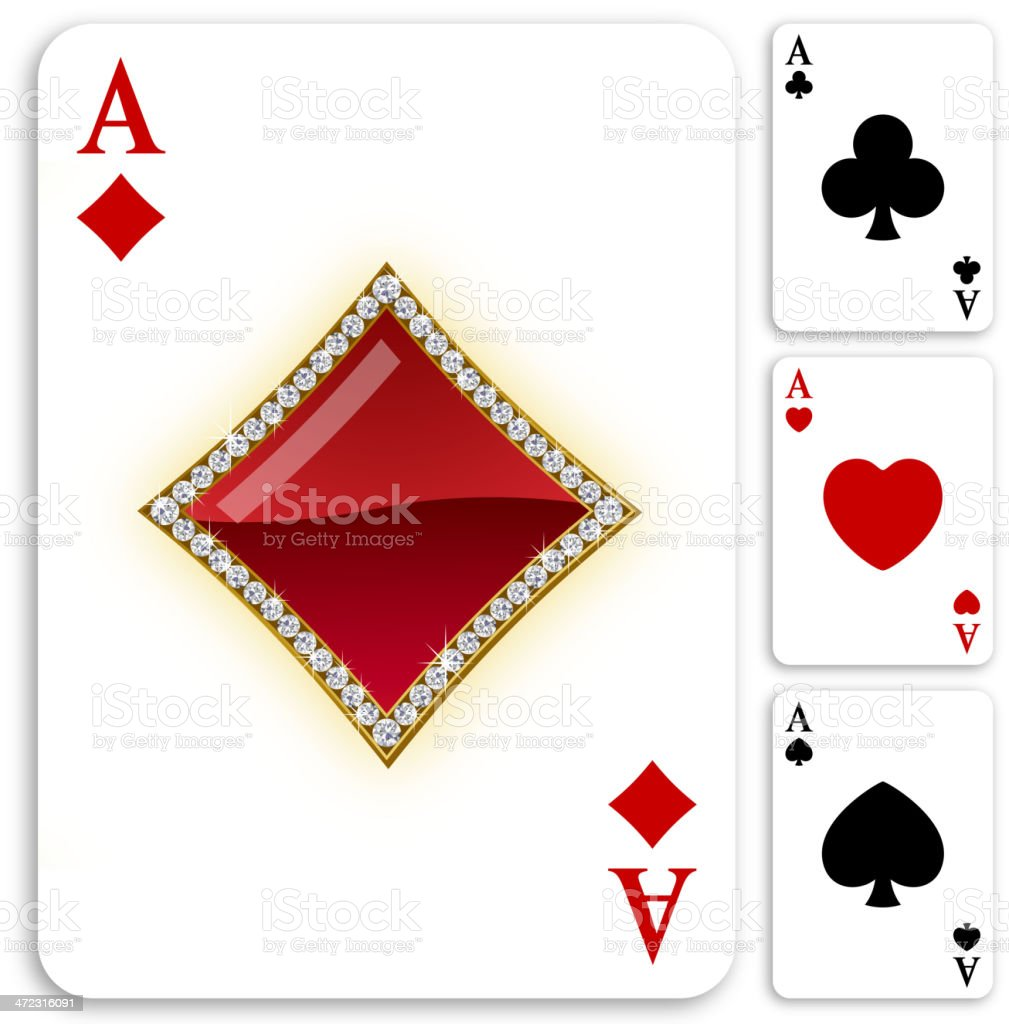 vector stock card diamond heart photo seamless suits spade cards pattern and playing club