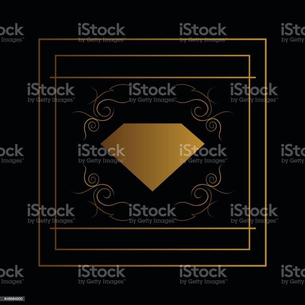 Elmas Tasarım Logo Taşlar Logosu Safir Logosu Mücevher Takı Moda