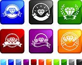Diamond Endorsement Badges sticker set