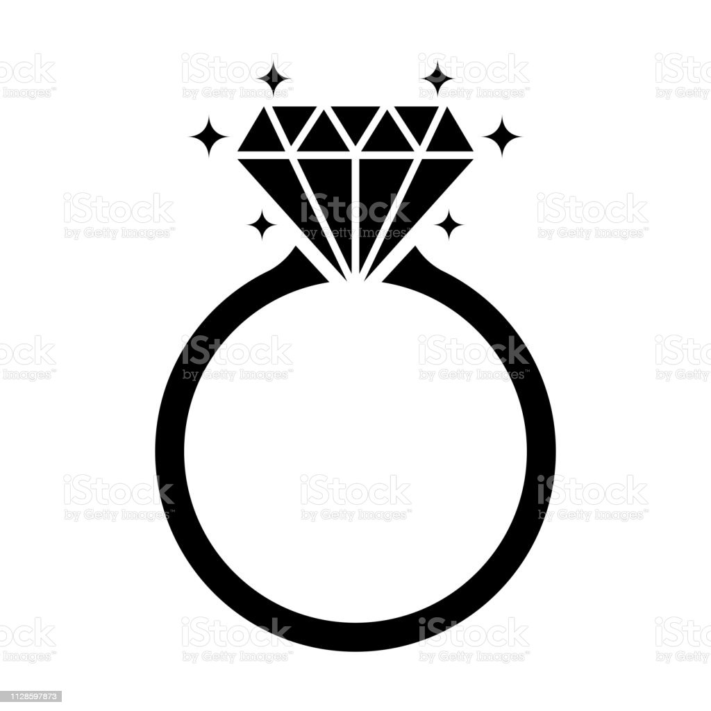 diamond engagement ring icon isolated on white background stock illustration download image now istock diamond engagement ring icon isolated on white background stock illustration download image now istock
