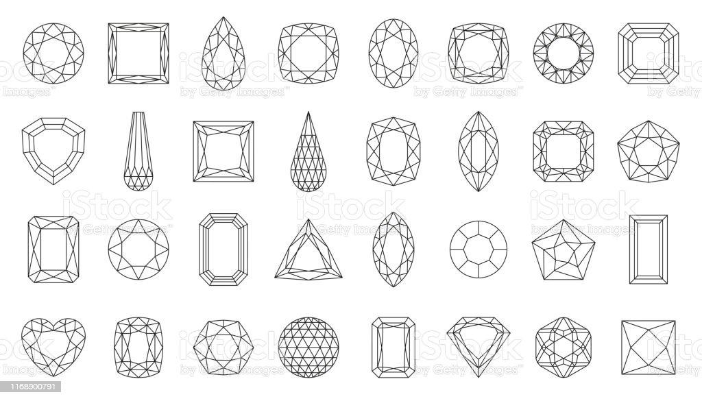 Diamond Gem Scrapbooking Diamond Gem Vector Image Diamond Gem Engrave Svg Diamond Gem Clipart Image