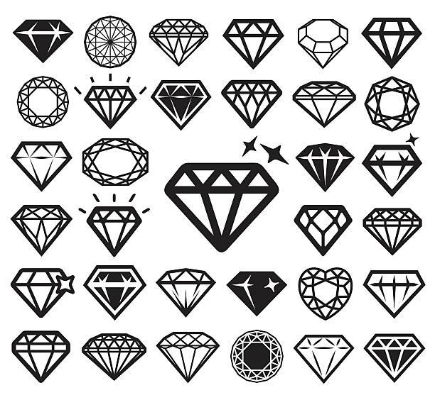 royalty free diamond shape clip art vector images illustrations