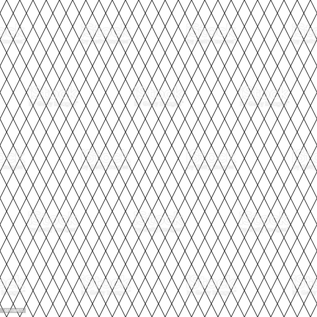 diamond line pattern seamless black and white colors line