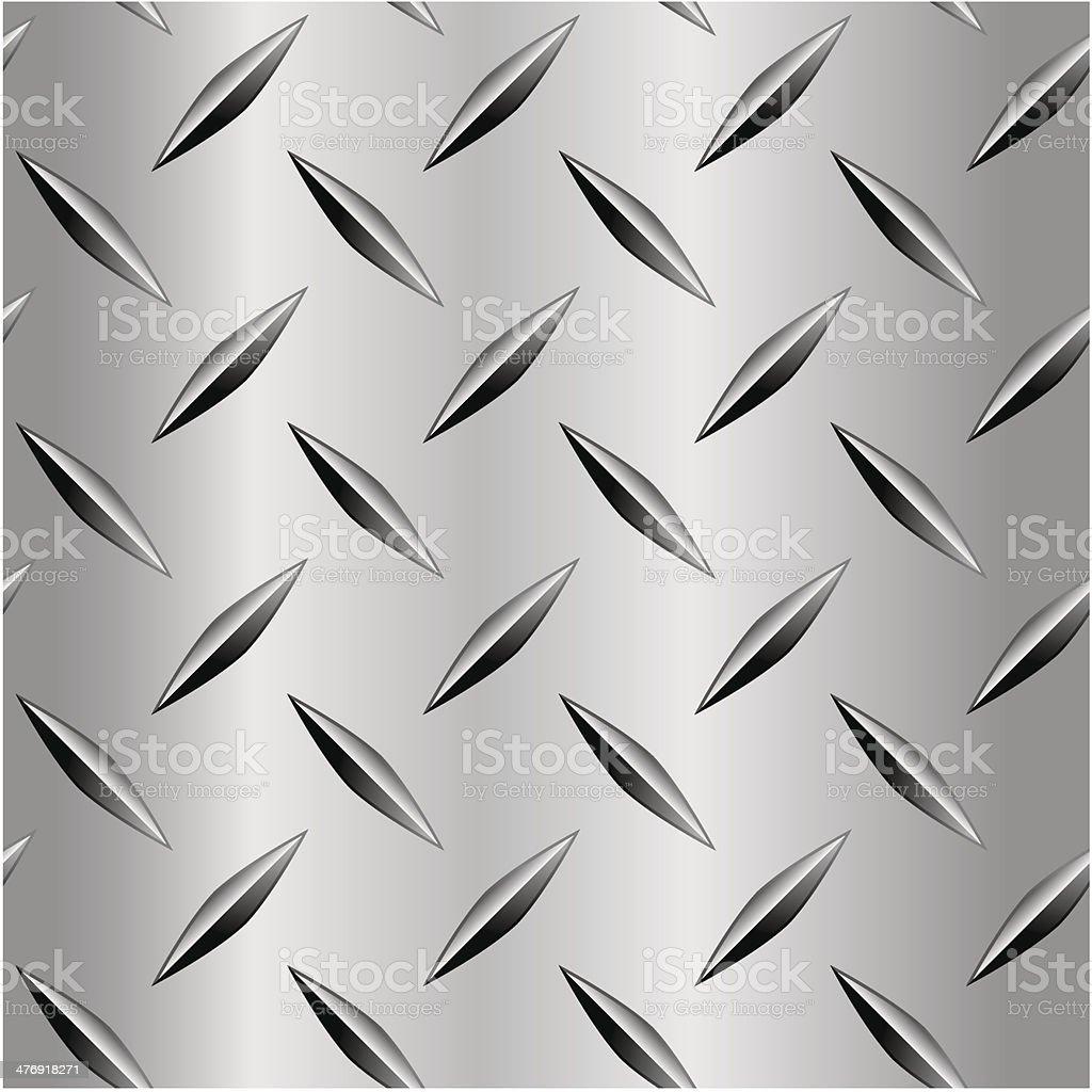 Diamond Plate Pattern vector art illustration
