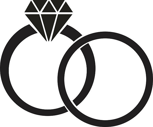 diamond ring vector icon - photo #41
