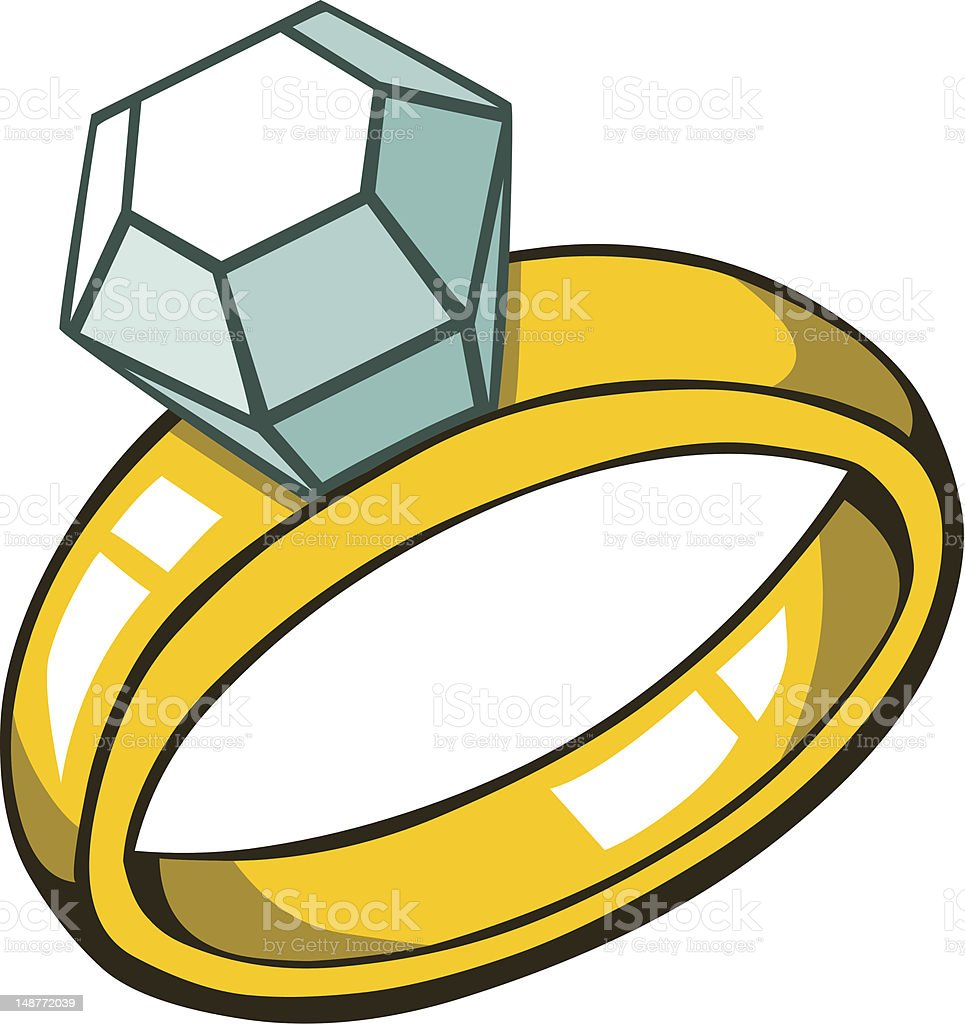 Diamond Ring Stock Illustration Download Image Now Istock