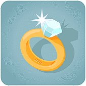 Diamond Ring with sparkle