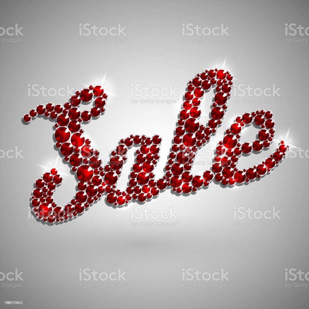 Diamond Sale royalty-free diamond sale stock vector art & more images of bright