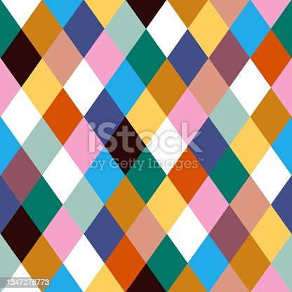 istock Diamond seamless pattern for wrapping paper,wallpaper, textile or background 1347278773