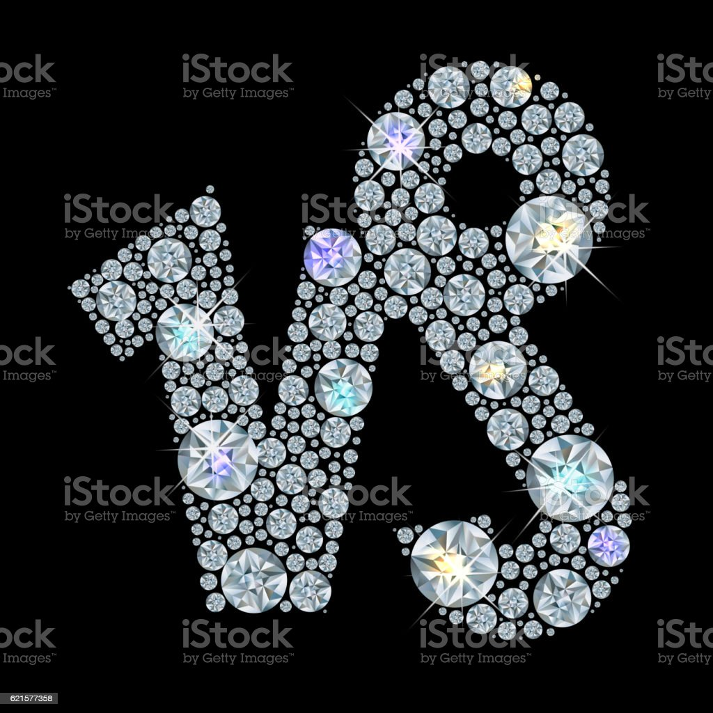 Diamond sign of the zodiac Capricorn diamond sign of the zodiac capricorn – cliparts vectoriels et plus d'images de astrologie libre de droits