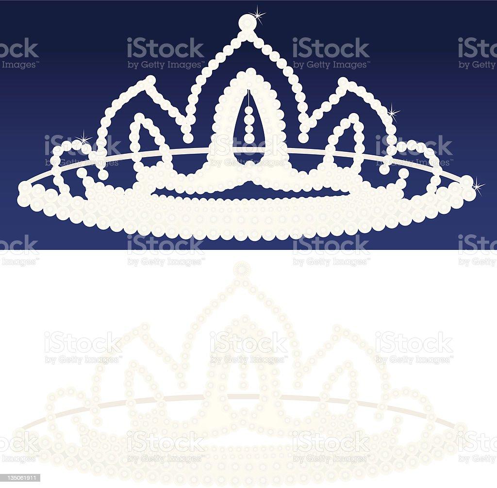 Diamond Tiara royalty-free stock vector art