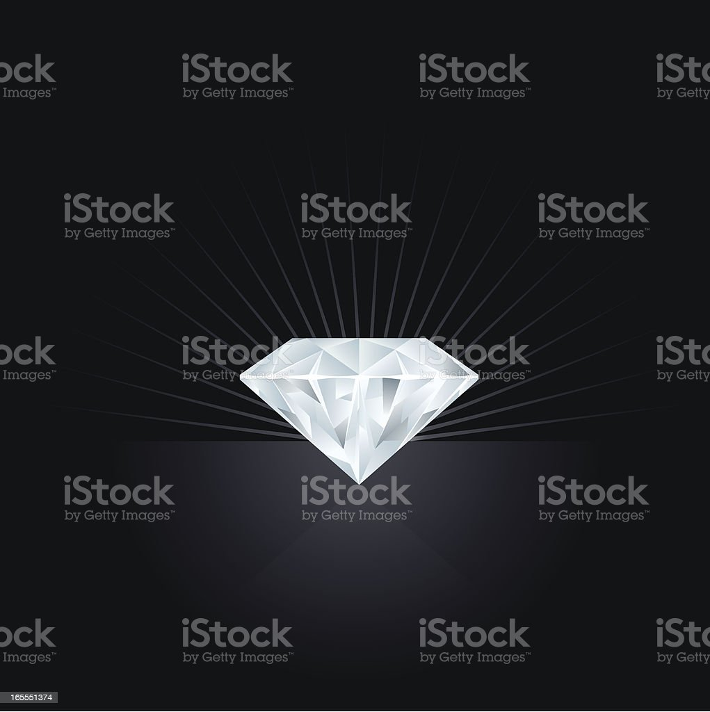Diamond royalty-free diamond stock vector art & more images of backgrounds