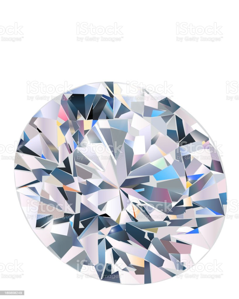 Diamond royalty-free diamond stock vector art & more images of abstract