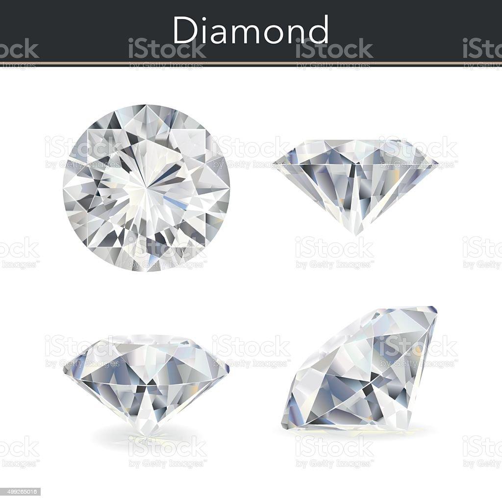 Diamond royalty-free diamond stock illustration - download image now