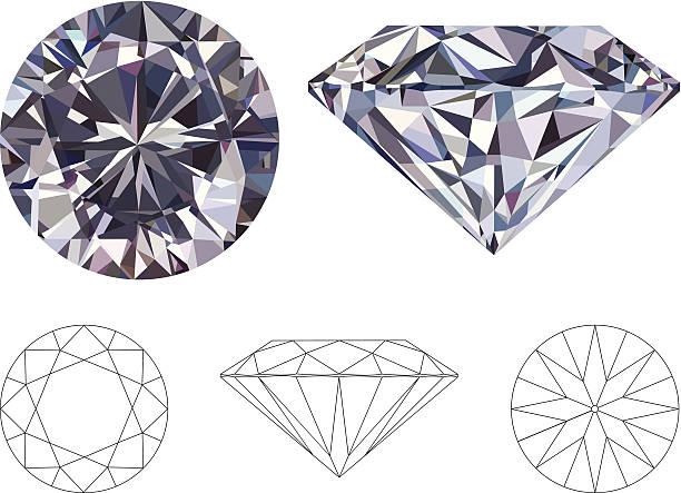 diamond - diamond shaped stock illustrations, clip art, cartoons, & icons