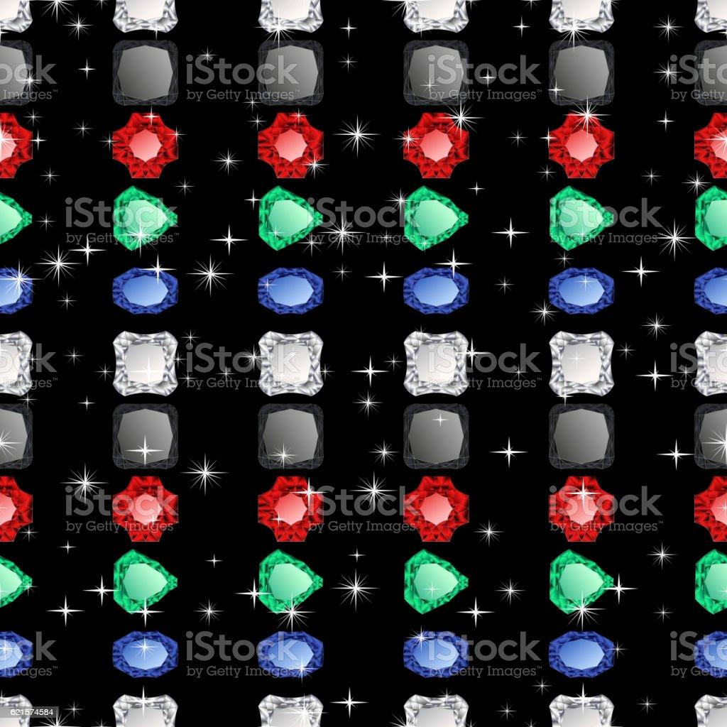 Carreau motif sans couture. carreau motif sans couture – cliparts vectoriels et plus d'images de abstrait libre de droits