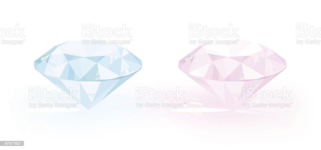 diamonds royalty-free diamonds stock vector art & more images of blue