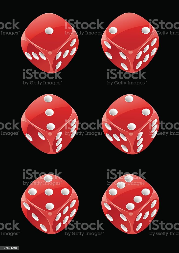 Dice 24 royalty-free stock vector art