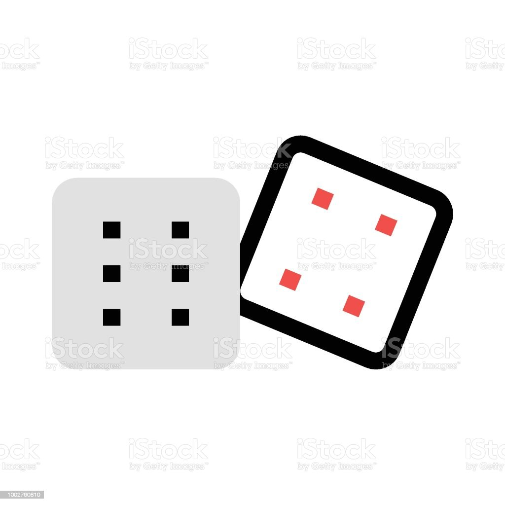 Dados - ilustración de arte vectorial